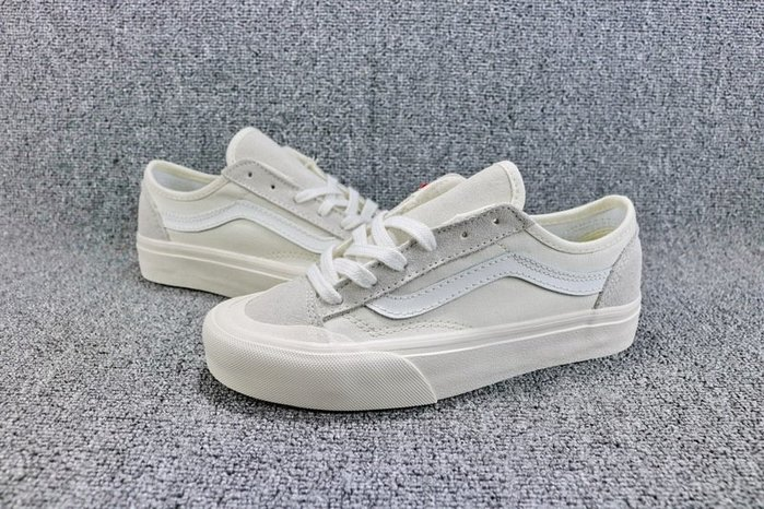 Vans Vault OG style 36 經典復古低幫板鞋 米白 休閒滑板鞋 VN0A3MVLQC5