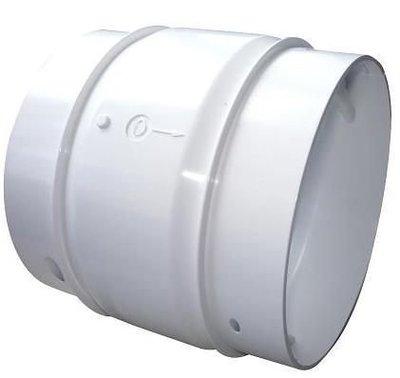 《振勝網》現貨供應 5 1/2 排油煙機用逆止風門 免動力雙葉片式5½吋 防止異味回流 防蟲 逆風檔板