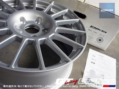 德朋國際 / ㊣ ENKEI Sport RCT4 17吋 MAT 炫銀色 WRC式樣 鍛造輕亮化鋁圈 歡迎詢問~