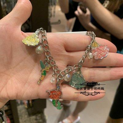 上海迪士尼樂園代購灰姑娘公主系列手鏈手環首飾品可愛動漫卡通