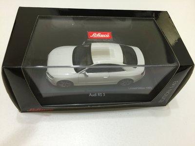Schuco Audi RS5 WHITE