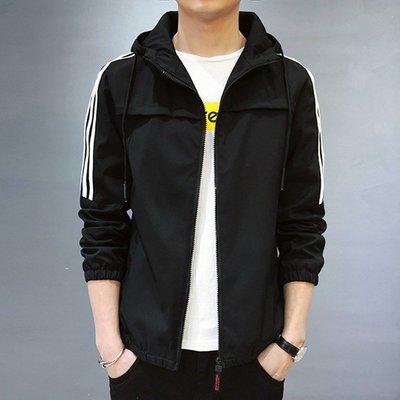 男防風外套2020秋冬新款男士外套可定制LOGO韓版時尚潮流新款夾克男修身外套風衣