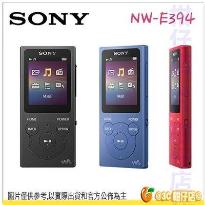 @3C 柑仔店@ SONY NW-E394 8G 數位隨身聽 MP3 台灣索尼公司貨 383 下代