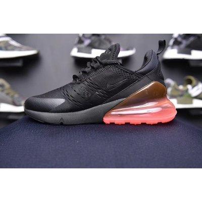 Nike Air Max 270 Hot Punch 黑色 螢光桃紅 氣墊 男款 AH8050-010