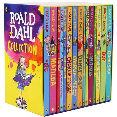 【上品外文書坊】Roald Dahl 15 copies collection 羅爾德達爾全套15冊 英文版 原文書