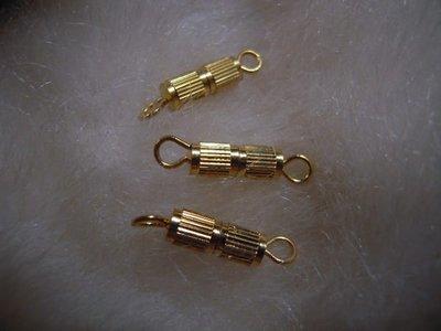 ※布箱子※ 串珠材料手作配件~直花扣頭(B557)~12*4mm