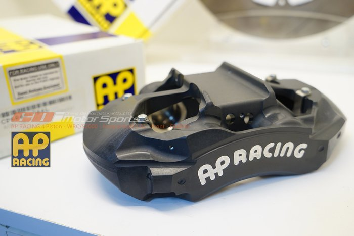AP Rally Range CP-6840 4POT 內油路競技卡鉗 適用尺寸330~355mm / 制動改