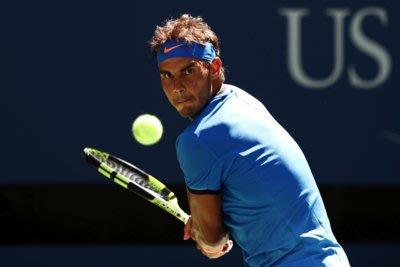 現代裝飾畫網球明星納達爾Nadal納豆健身體育會所