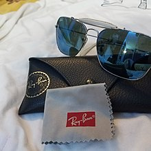 ray~ban水銀藍色太陽眼鏡