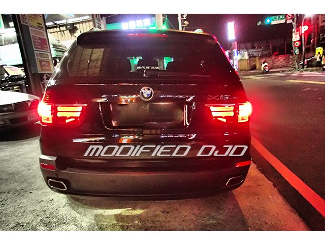 DJD19101601 BMW E70 X5 07-13 尾飾管升級運動版  歡迎預約現場安裝 工資另計