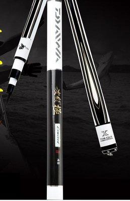 純正日本血統 釣師級長竿 戰鬥竿 碳纖 CARBON 5H超硬調 波紋極 X 競技版 18尺 540cm