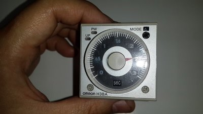 OMRON 限時繼電器 H3BA-N8H 110V 1.2 秒 ~ 300 時 TIMER 固態計時器