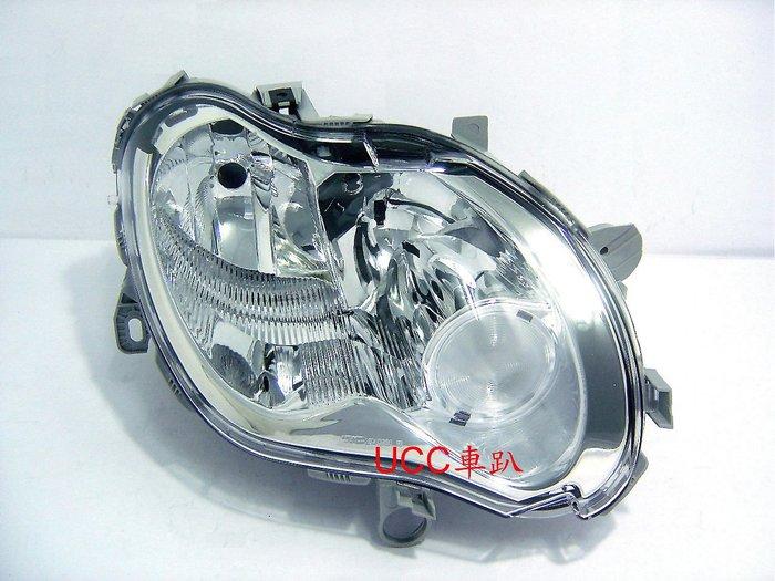 【UCC車趴】BENZ 賓士 SMART FORTWO 03 04-06 07 原廠型 晶鑽大燈 TYC製 一組5400