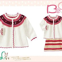 【B& G童裝】正品美國進口GYMBOREE 刺繡花圖樣長袖針織外套18-24mos