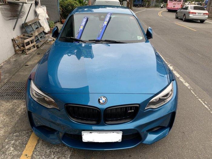 光速改裝部品 日本原裝進口 ZERO SPORTS BMW M2 專用 超撥水矽膠 三節式雨刷 免運費 附發票