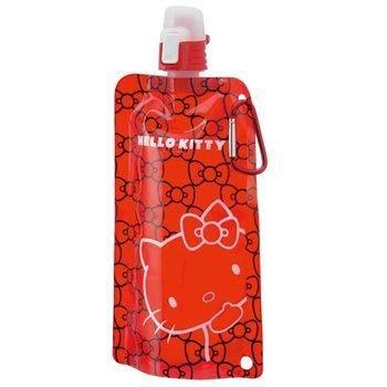 貝果貝果  日本 Hello Kitty  外出折疊飲水器 - 紅 [L557]
