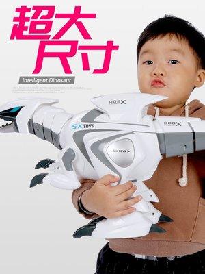 【安安3C】兒童遙控恐龍玩具機器人超大...