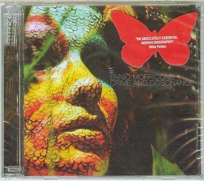 """[原聲帶]- """"Crime and Dissonance-2CDs""""- Ennio Morricone(09),全新美版"""