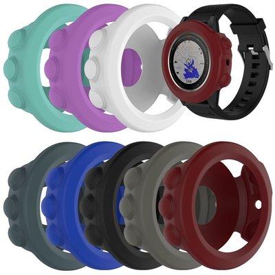 丁丁 佳明 Garmin Fenix 5X 純色智能手錶錶盤防老化保護套 飛耐時 5x 帶防塵塞 防磨損 錶盤保護外殼