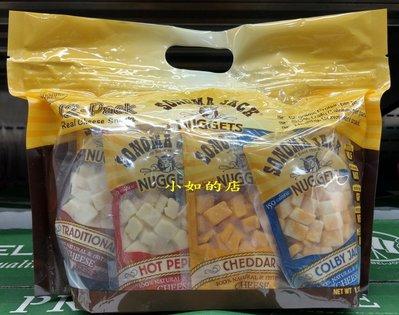 【小如的店】COSCO好市多代購~SONOMA 乾酪塊綜合袋-辣椒乾酪.傳統乾酪.柯比傑克乾酪.切達切達(每包510g)