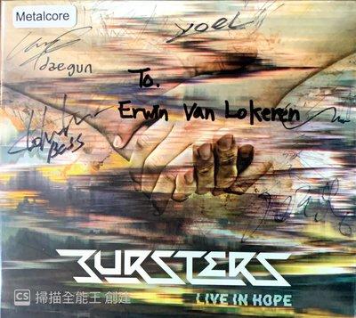 【搖滾帝國】韓國搖滾(Rock)樂團 BURSTERS 2017 簽名版專輯 Live In Hope