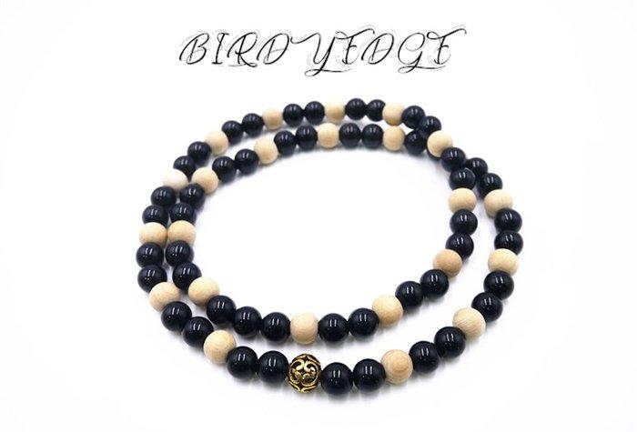 BIRDYEDGE品牌 原木 松木 潘朵 項鍊 珠項鍊