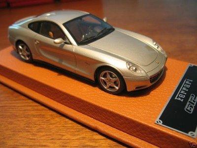【法拉利原廠版】BBR Ferrari Idea 612 Scaglietti旗艦跑車silver w/ leather base