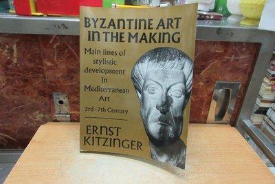 【嫺月書坊】K1564 (英)   BYZAnTInE ART InTHE MAKInG    1995