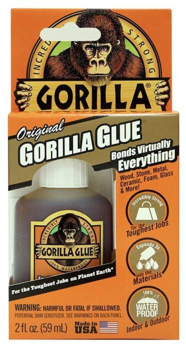 多益得 Gorilla Glue金剛固力膠2oz/瓶 『史上最堅固、最環保的修繕黏膠』