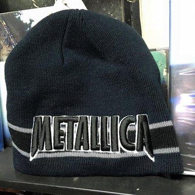 毛帽 全新進口 重金屬樂團 毛線帽 黑色 METALLICA