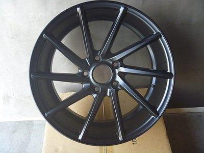 安志輪胎行 17吋鋁圈-C311  5*114  ET38  8J  全新  特價優惠    消光黑 台中市