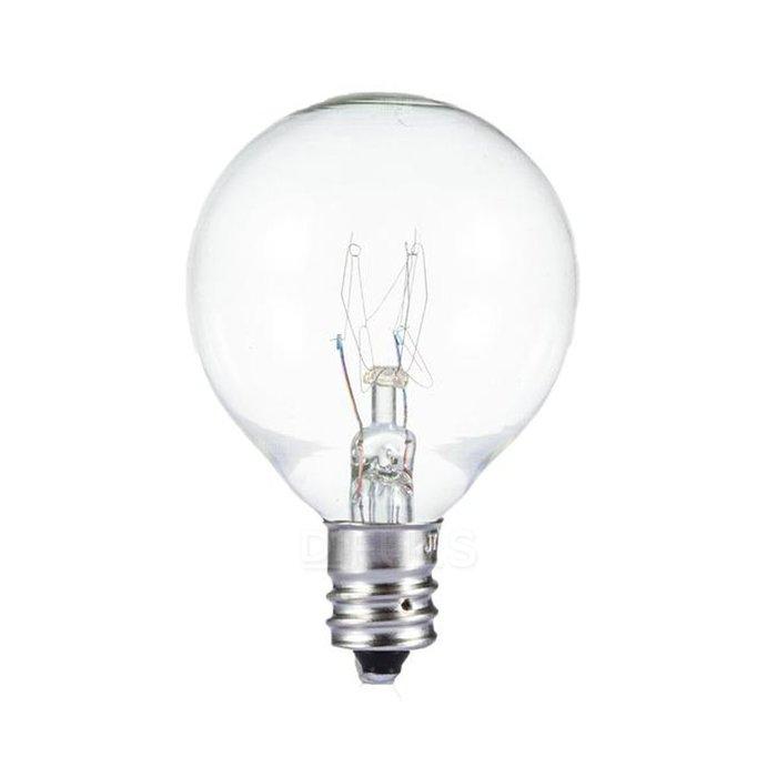 復古串燈 G40 燈泡 鎢絲燈 透明燈泡 燈球 玻璃球 25顆