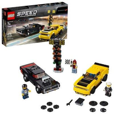 現貨 LEGO 75893 SPEED 系列 道奇對決 Dodge Challenger SR 全新未拆 公司貨