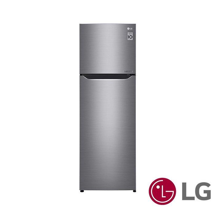 *~ 新家電錧 ~* 【LG樂金 GN-L307SV/W】253L 1級變頻2門電冰箱 GN-L【實體店面.全省.運送】