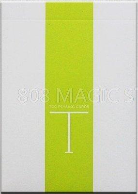 [808 MAGIC]魔術道具 Fresh T Playing Card 粉綠