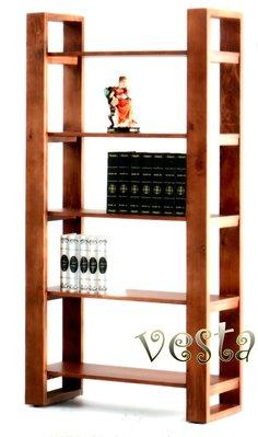 *Vesta 維斯塔*實木五層雙面櫃