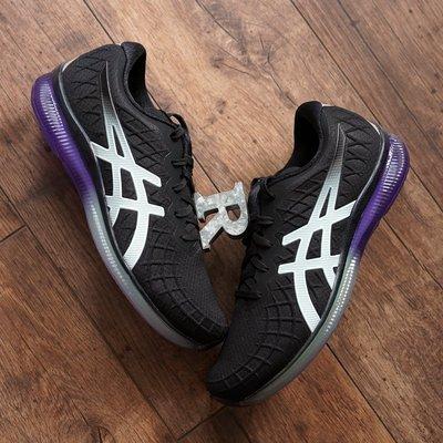 R現貨25.5+代購 ASICS 亞瑟士 Gel-Quantum Infinity 黑紫綠 1022A051 002 女慢跑鞋