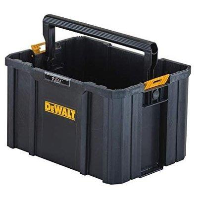 景鴻五金 公司貨 美國 得偉DEWALT 變形金剛 開口式 收納箱 置物箱 可與同系列箱堆疊 DWST17809 含稅價