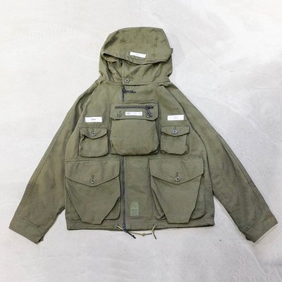 【車庫服飾】NEIGHBORHOOD NBHD TACTICAL SMOCK / CN-JKT 多口袋工裝夾克