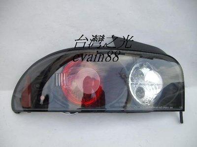 《※台灣之光※》SUBARU速霸路93 94 95 96 98 99 00年硬皮鯊4門GC8 WRX IMPREZA超酷IS款黑底尾燈組