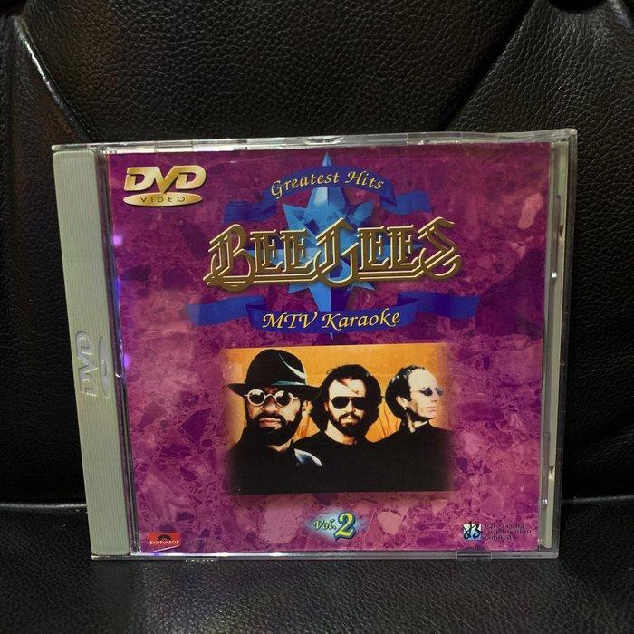 ♘➽二手DVD BeeGees比吉斯 合唱團精選2,香港寶麗金1997發行,MV+卡拉OK,收錄12首暢銷金曲。