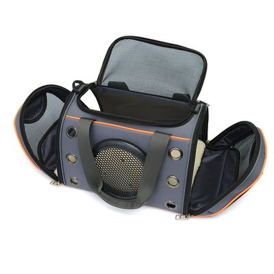 跨境寵物手提包透氣耐磨貓咪外出包便攜寵物狗包可折疊寵物太空包