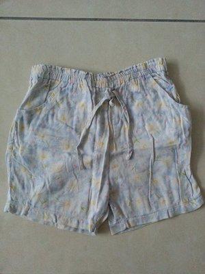 【臻迎福】女童童裝 短褲 七分褲 牛仔褲 及膝褲 休閒褲(鬆緊帶鬆了)(甲)