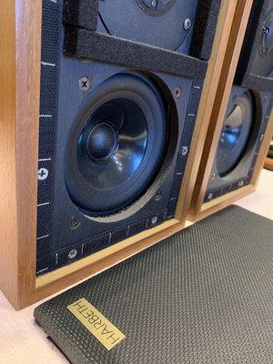 經典HARBETH LS3/5A  一手 早期版本錄音室專用