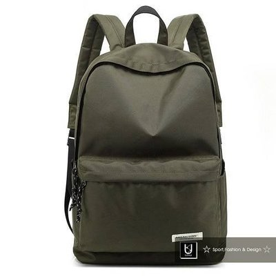 【US.STYLE】VA我的小旅行輕量學院後背包(軍綠)