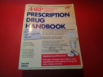 【愛悅二手書坊 01-22】Aarp Pharmacy Service Prescription Drug -(水漬)