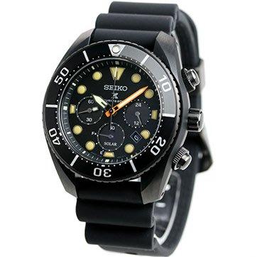 預購 SEIKO SBDL065 精工錶 機械錶 PROSPEX 44mm 太陽能 潛水錶 黑面盤 黑橡膠錶帶 男錶女錶