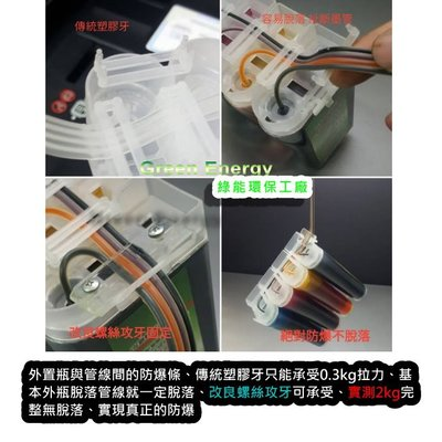 【綠能】代客改裝連續供墨+原廠匣改裝+含來回運費+黑色防水 Canon TR4570