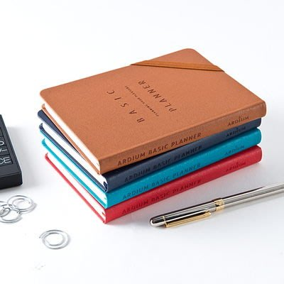 ♀高麗妹♀韓國 ARDIUM BASIC PLANNER S 基本美學 日記事行事曆/萬年手帳(2款3色選)預購