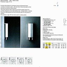德國名牌 LIMBURG WALL MOUNTED LUMINAIRES MODEL NO. 7240